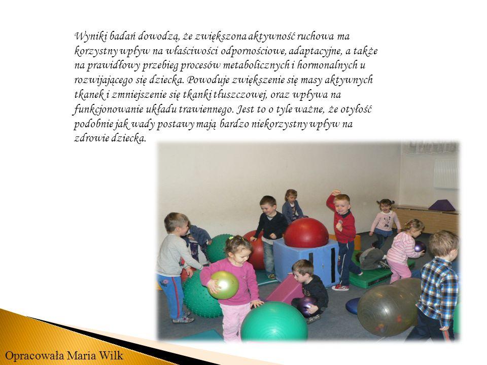 Wyniki badań dowodzą, że zwiększona aktywność ruchowa ma korzystny wpływ na właściwości odpornościowe, adaptacyjne, a także na prawidłowy przebieg pro