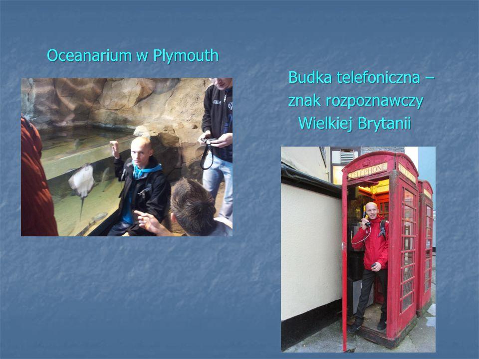 Oceanarium w Plymouth Oceanarium w Plymouth Budka telefoniczna – znak rozpoznawczy znak rozpoznawczy Wielkiej Brytanii Wielkiej Brytanii
