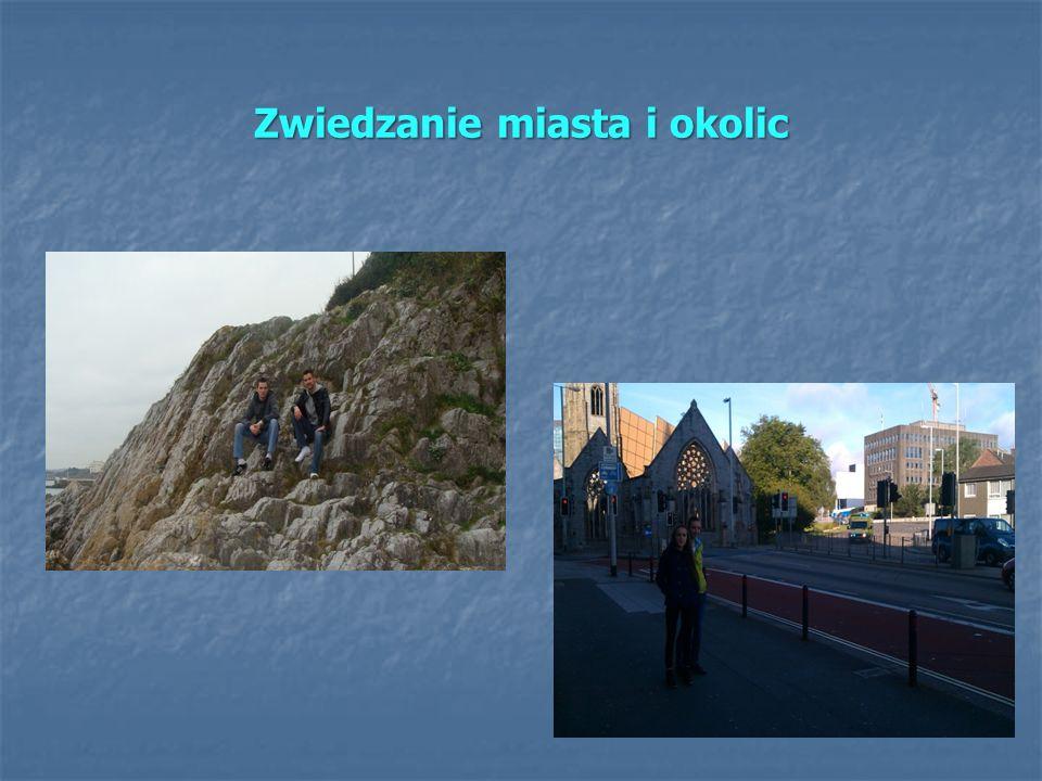 Zwiedzanie miasta i okolic
