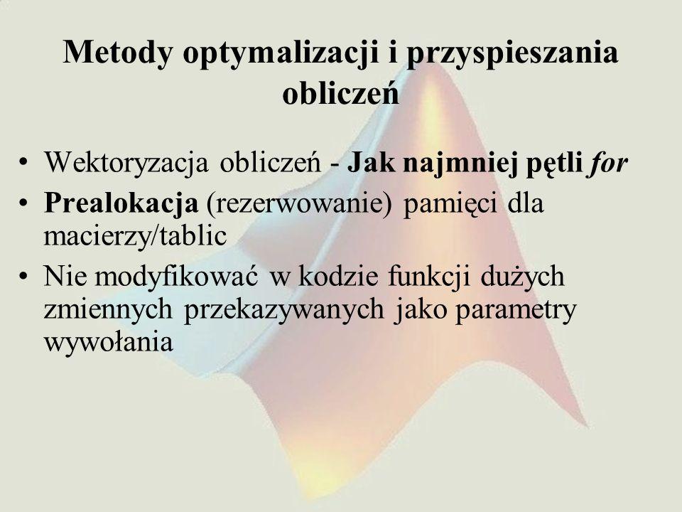 Rodzaje obliczeń równoległych Materiały z wykładu Obliczenia równoległe i rozproszone wśrodowisku MATLAB, Miłosz Augustyński, ONT Kraków