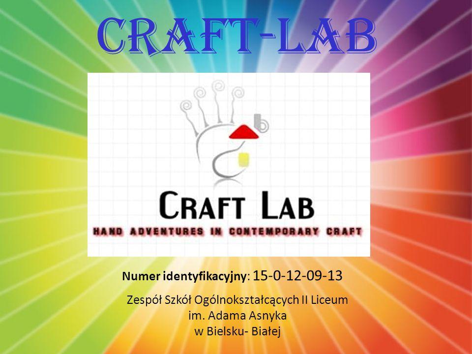 Charakterystyka przedmiotu działalności Firma Craft Lab zajmuje się sprzedażą oraz produkcją kartek świątecznych, ozdób i produktów okolicznościowych.