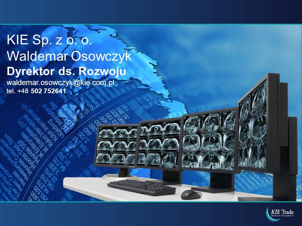 KIE Sp. z o. o. Waldemar Osowczyk Dyrektor ds. Rozwoju waldemar.osowczyk@kie.com.pl tel. +48 502 752641