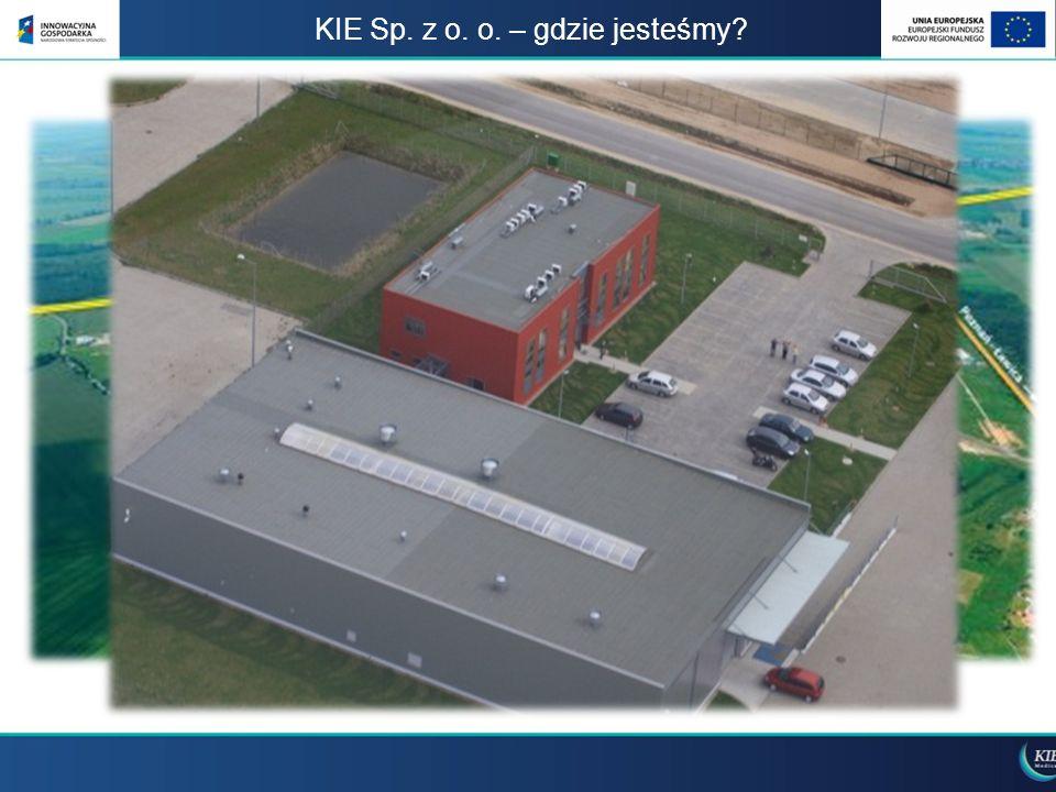KIE Sp.z o. o. Waldemar Osowczyk Dyrektor ds. Rozwoju waldemar.osowczyk@kie.com.pl tel.