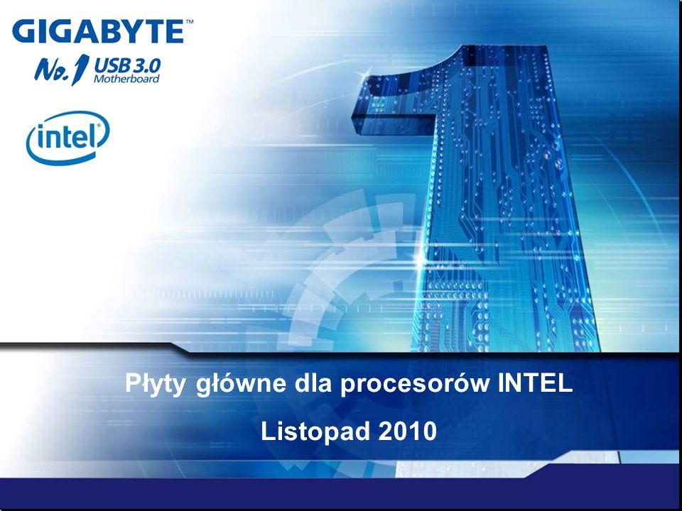 Płyty główne dla procesorów INTEL Listopad 2010