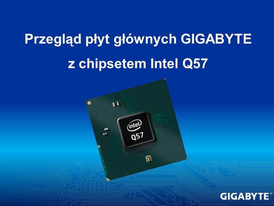 Przegląd płyt głównych GIGABYTE z chipsetem Intel Q57