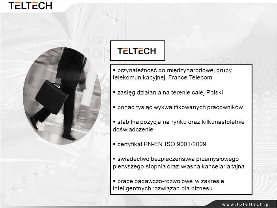 przynależność do międzynarodowej grupy telekomunikacyjnej France Telecom zasięg działania na terenie całej Polski ponad tysiąc wykwalifikowanych praco
