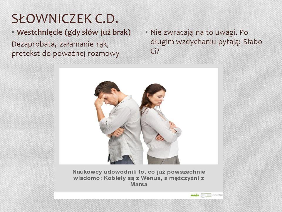 SŁOWNICZEK C.D.