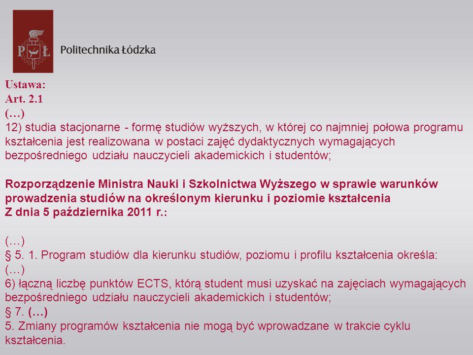 Rozporządzenie Ministra Nauki i Szkolnictwa Wyższego w sprawie warunków i trybu przenoszenia zajęć zaliczonych przez studenta Z dnia 14 września 2011 r.