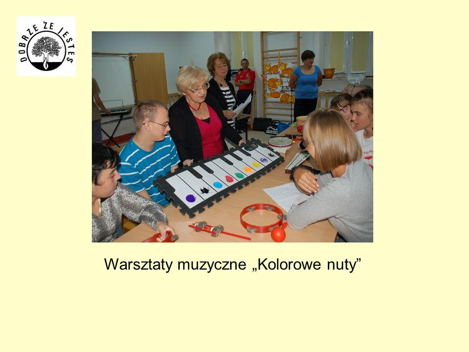 Warsztaty muzyczne Kolorowe nuty