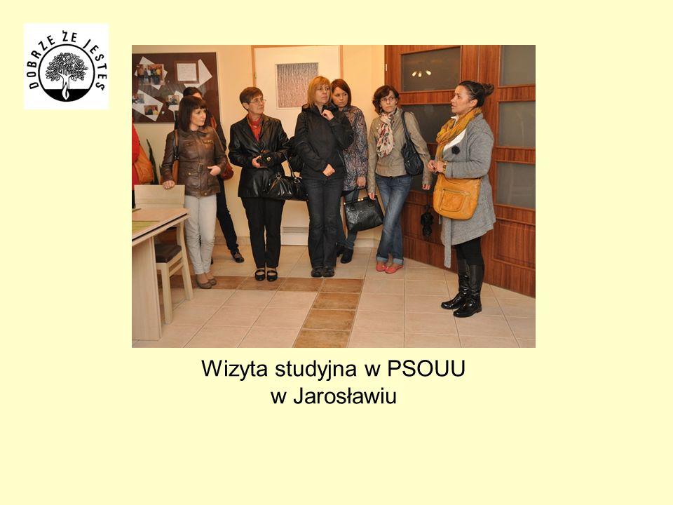 Wizyta studyjna w PSOUU w Jarosławiu