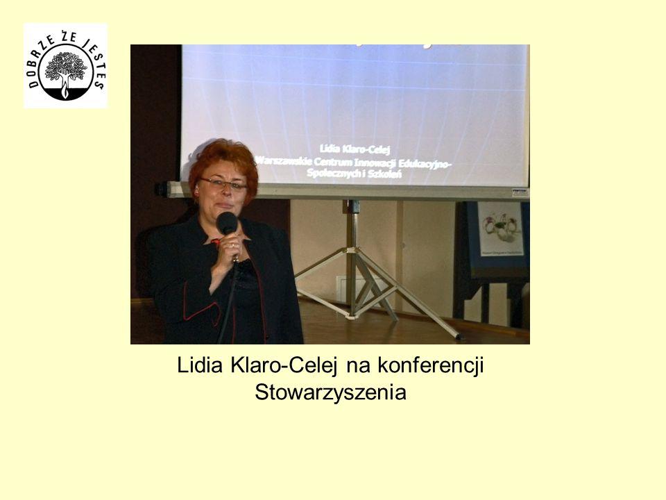 Lidia Klaro-Celej na konferencji Stowarzyszenia
