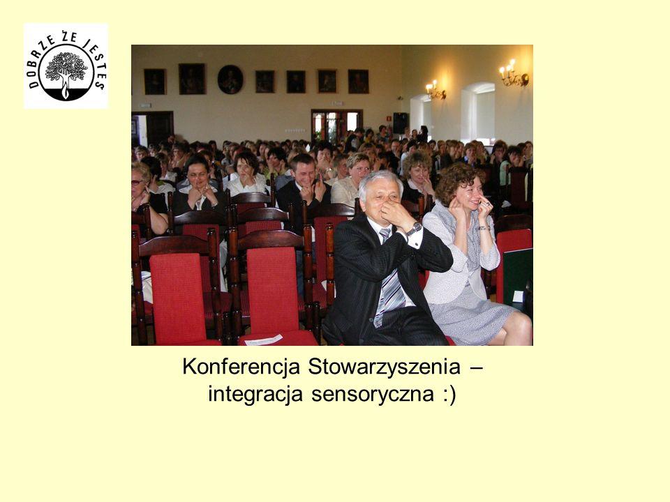 Konferencja Stowarzyszenia – integracja sensoryczna :)