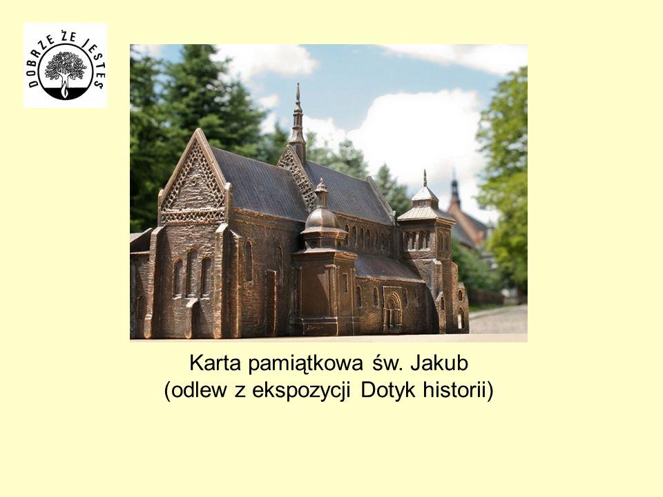 Karta pamiątkowa św. Jakub (odlew z ekspozycji Dotyk historii)