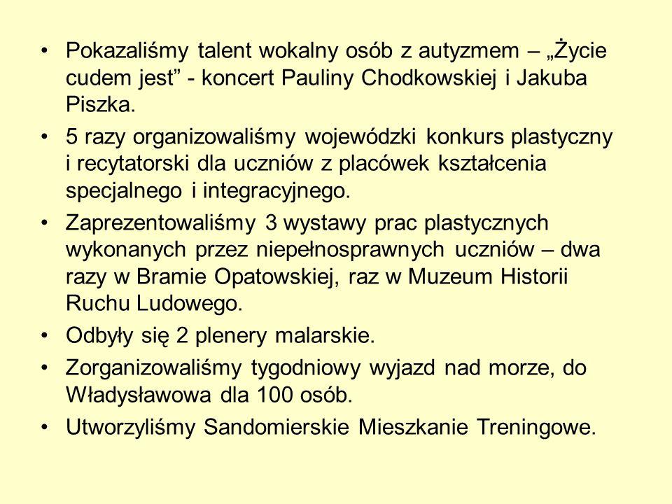 Pokazaliśmy talent wokalny osób z autyzmem – Życie cudem jest - koncert Pauliny Chodkowskiej i Jakuba Piszka.