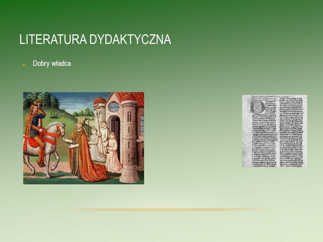 LITERATURA DYDAKTYCZNA Ideał ascety