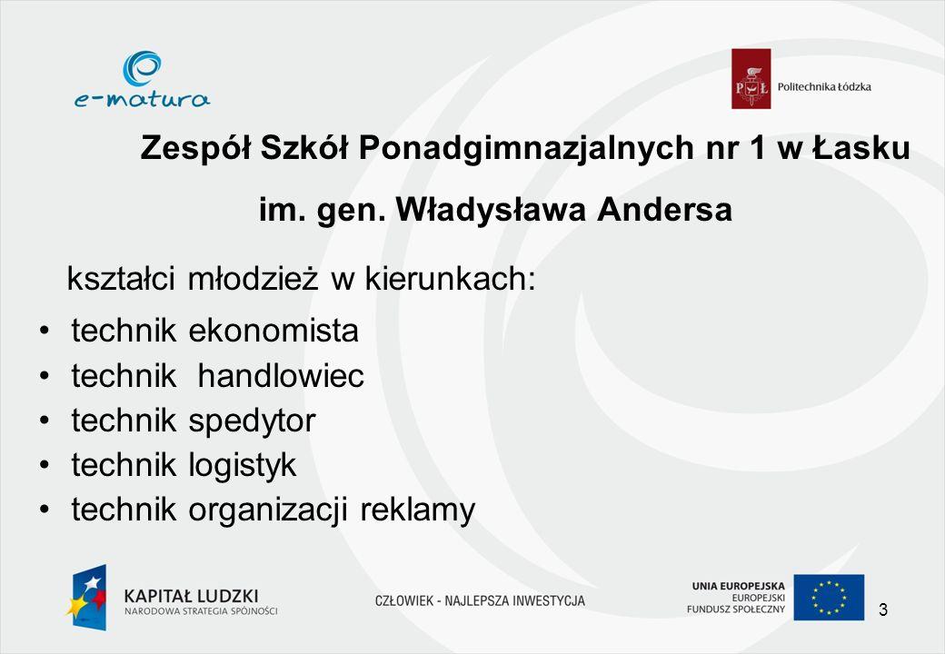 Zespół Szkół Ponadgimnazjalnych nr 1 w Łasku im. gen.