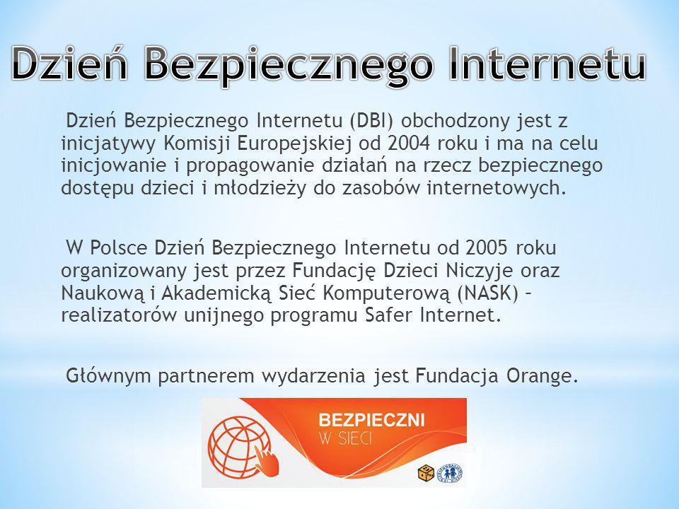 DBI ma na celu przede wszystkim inicjowanie i propagowanie działań na rzecz bezpiecznego dostępu dzieci i młodzieży do zasobów internetowych, zaznajomienie rodziców, nauczycieli i wychowawców z problematyką bezpieczeństwa dzieci w Internecie oraz nagłośnienie tematyki dotyczącej bezpieczeństwa online.