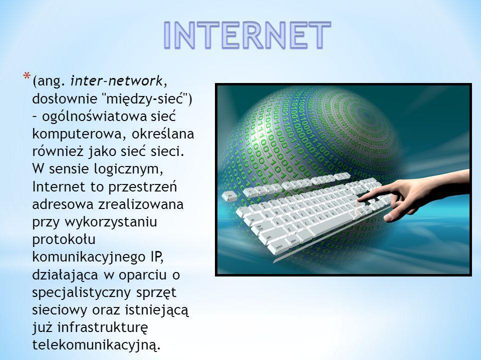 Internet stał się bardzo rozpowszechnionym zjawiskiem we współczesnym świecie - wiele osób nie potrafi sobie wyobrazić bez niego życia.