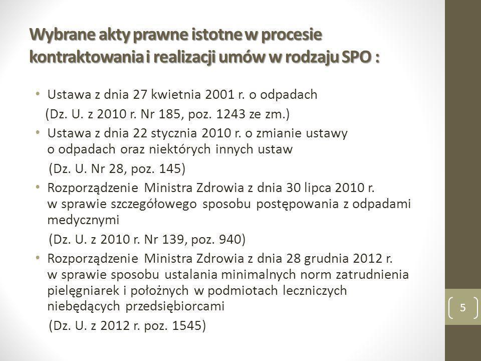 ŚWIADCZENIA PIELĘGNACYJNE I OPIEKUŃCZE W RAMACH OPIEKI DŁUGOTERMINOWEJ Zarządzenie Nr 87/2013/DSOZ Prezesa Narodowego Funduszu Zdrowia z dnia 18 grudnia 2013 r.