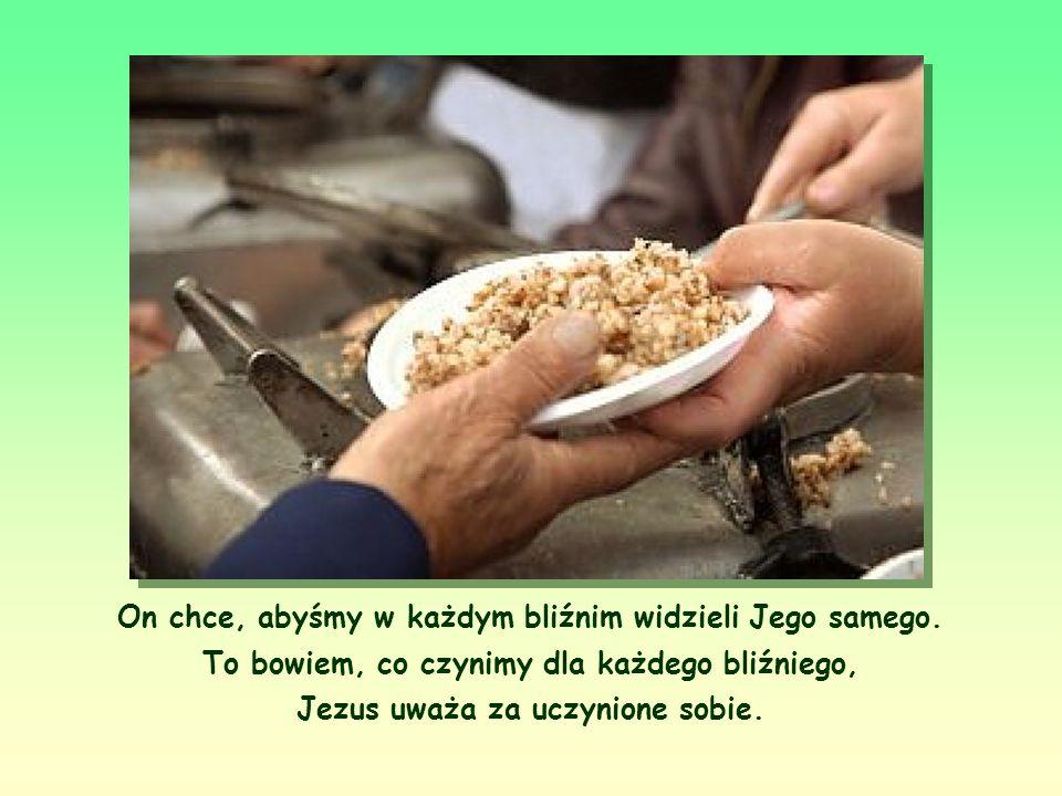 I miłujmy w prawdzie. Jezus postępował zawsze zgodnie z wolą Ojca; tak samo i my powinniśmy zawsze postępować zgodnie ze słowem Jezusa.