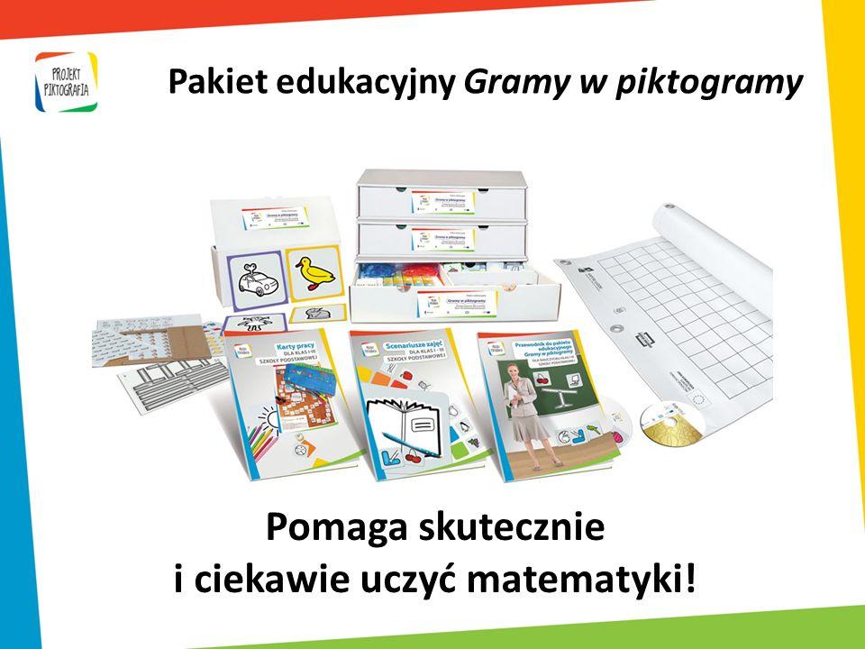 Pomaga skutecznie i ciekawie uczyć matematyki! Pakiet edukacyjny Gramy w piktogramy