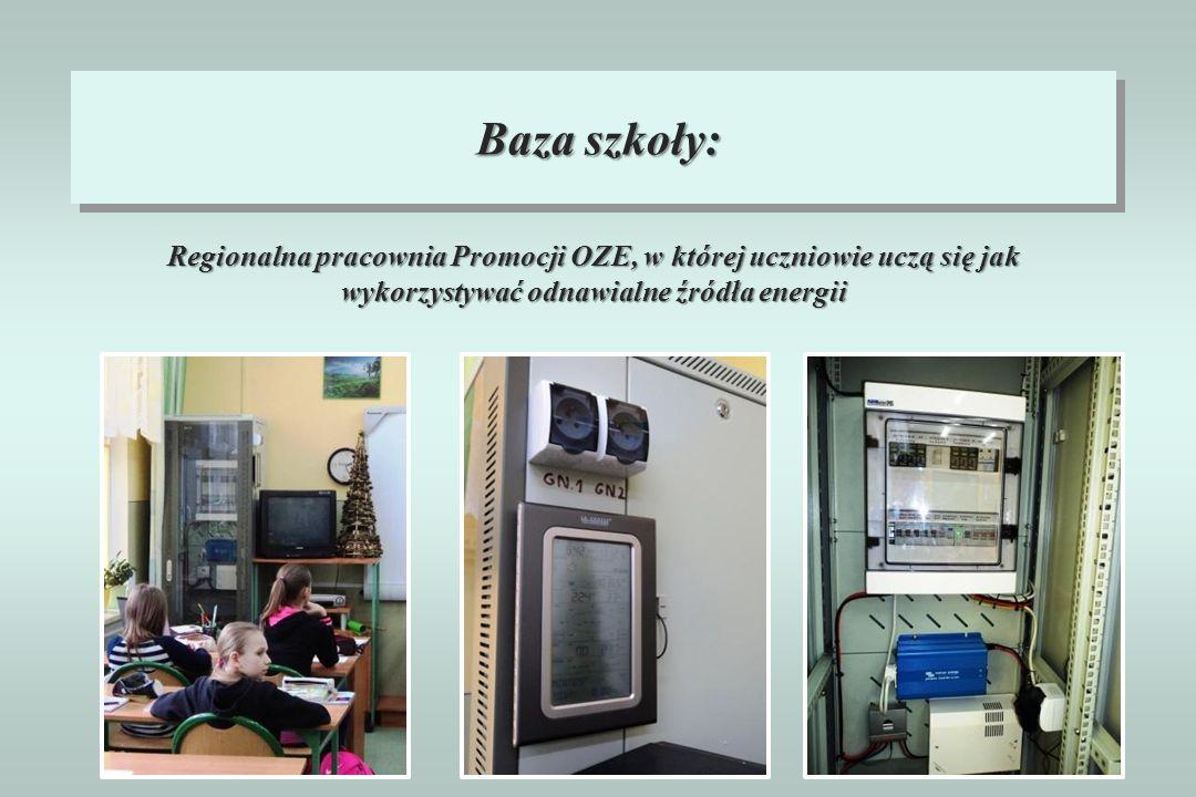 Regionalna pracownia Promocji OZE, w której uczniowie uczą się jak wykorzystywać odnawialne źródła energii