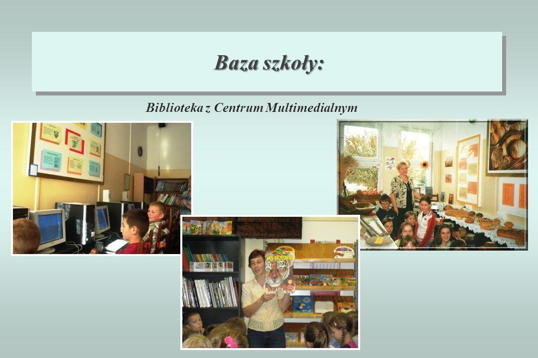 Baza szkoły: Biblioteka z Centrum Multimedialnym