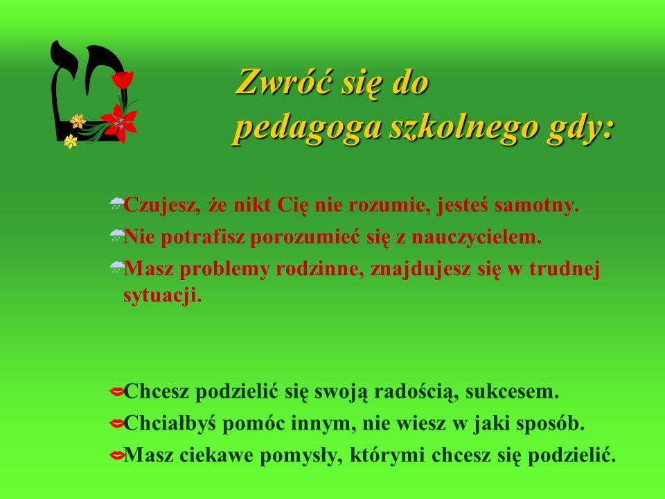 Placówki specjalistyczne świadczące pomoc Szkole, Rodzinie i Uczniowi Poradnia Psychologiczno-Pedagogiczna Tarnów ul.