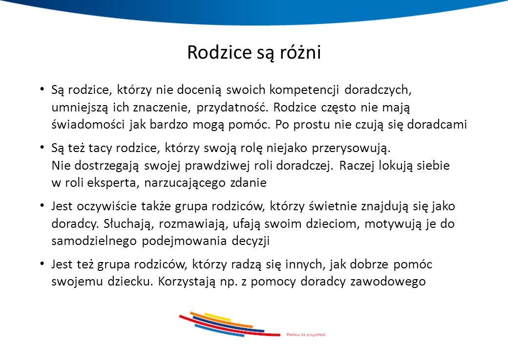 Źródła informacji o szkołach ponadgimnazjalnych Spotkania z przedstawicielami szkół ponadgimnazjalnych Tzw.