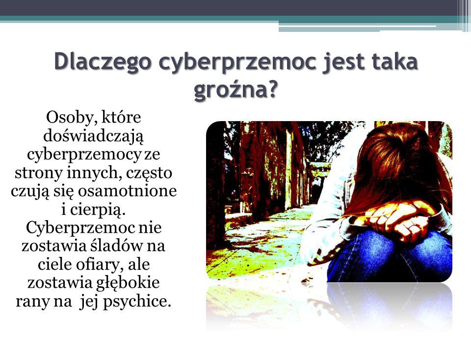 Dlaczego dochodzi do cyberprzemocy? Taka forma znęcania się nad swoimi ofiarami, zdaniem psychologów wynika z tego, że łatwiej poniżać, dyskredytować
