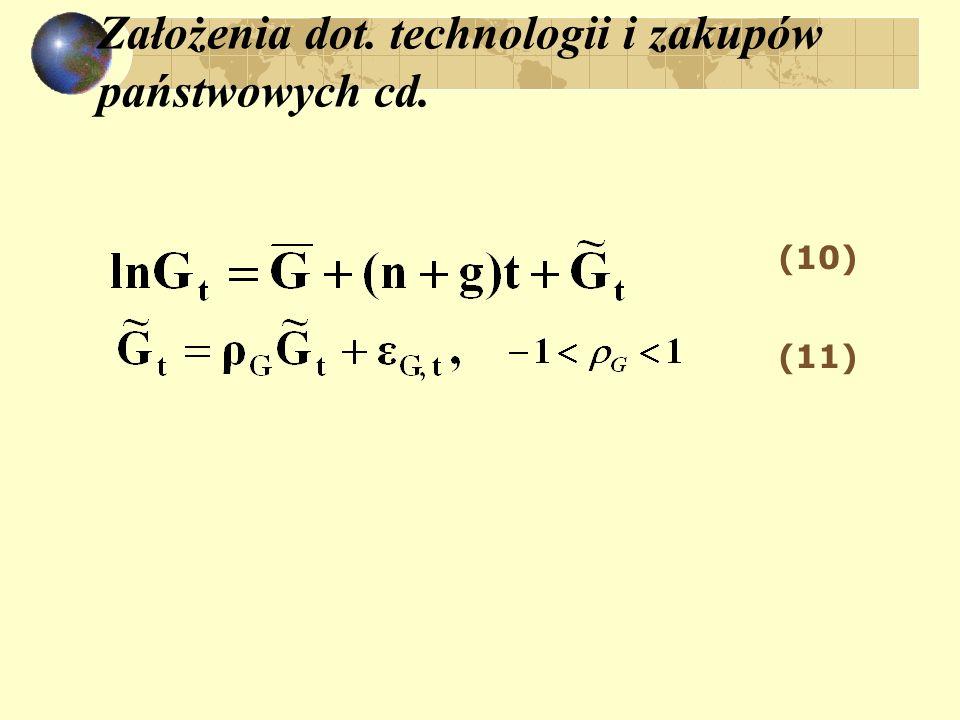 Założenia dot. technologii i zakupów państwowych cd. (10) (11)