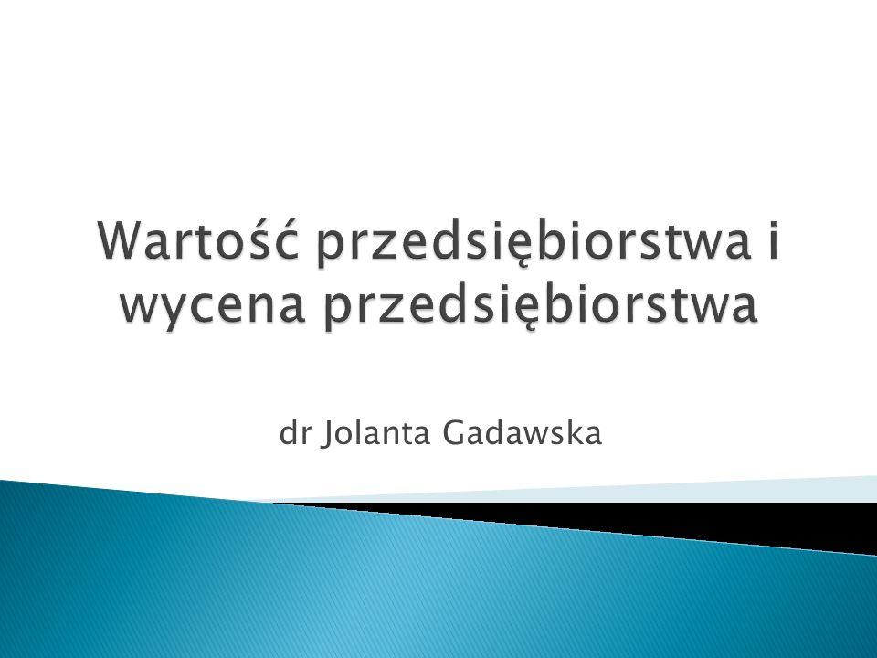 dr Jolanta Gadawska