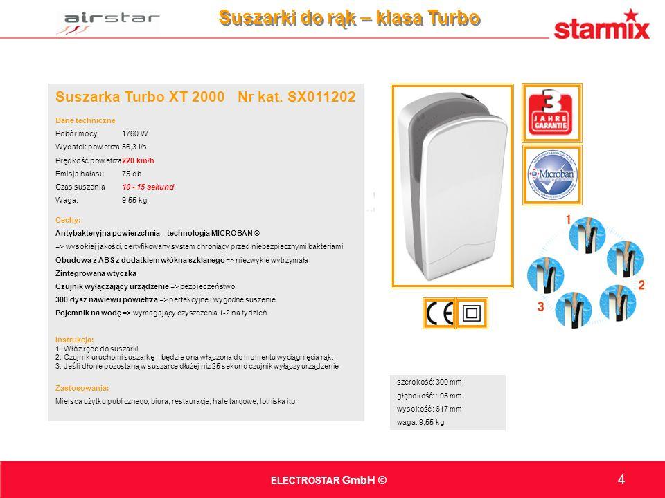 Suszarka Turbo XT 2000 Nr kat.
