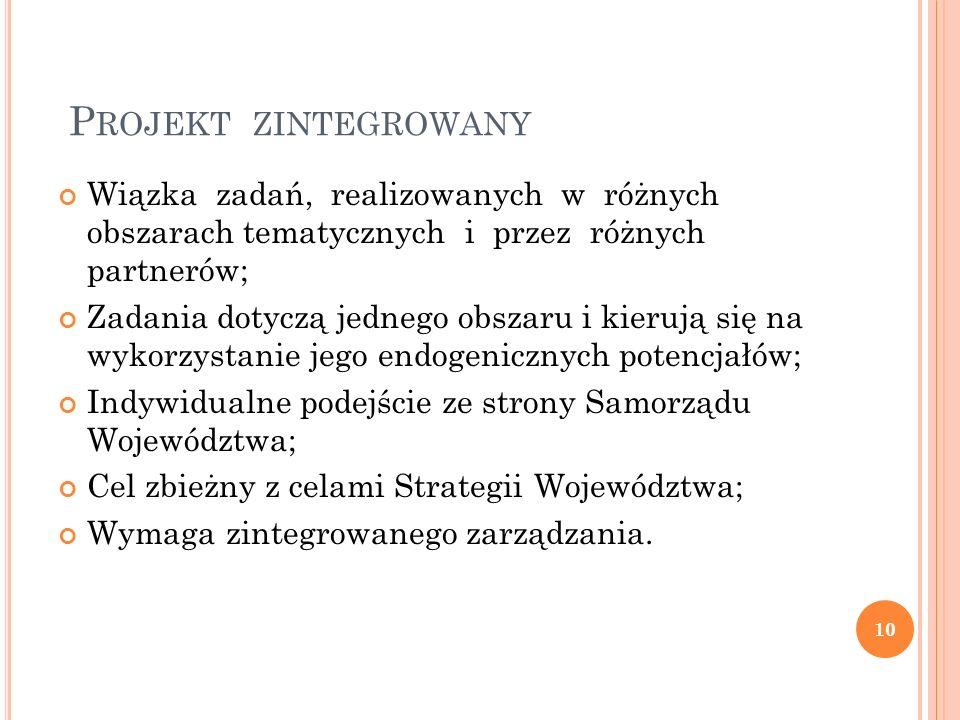 C HARAKTERYSTYKA P ROJEKTU Projekt pn.