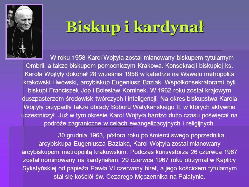 Karol Wojtyła – papieżem!.16 X 1978 r.