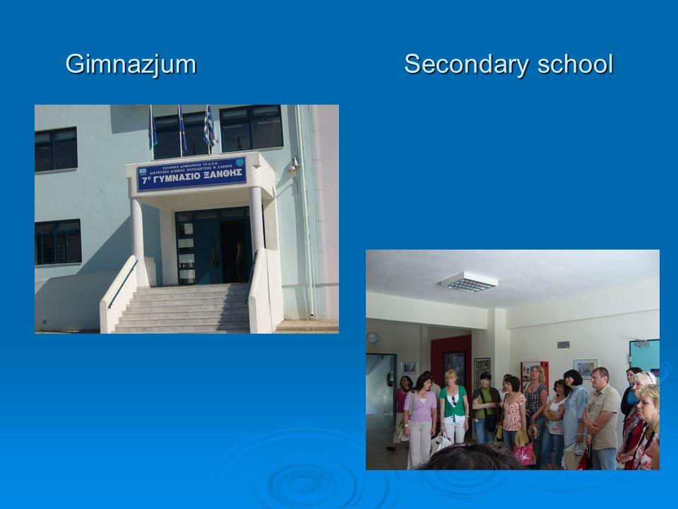 GimnazjumSecondary school