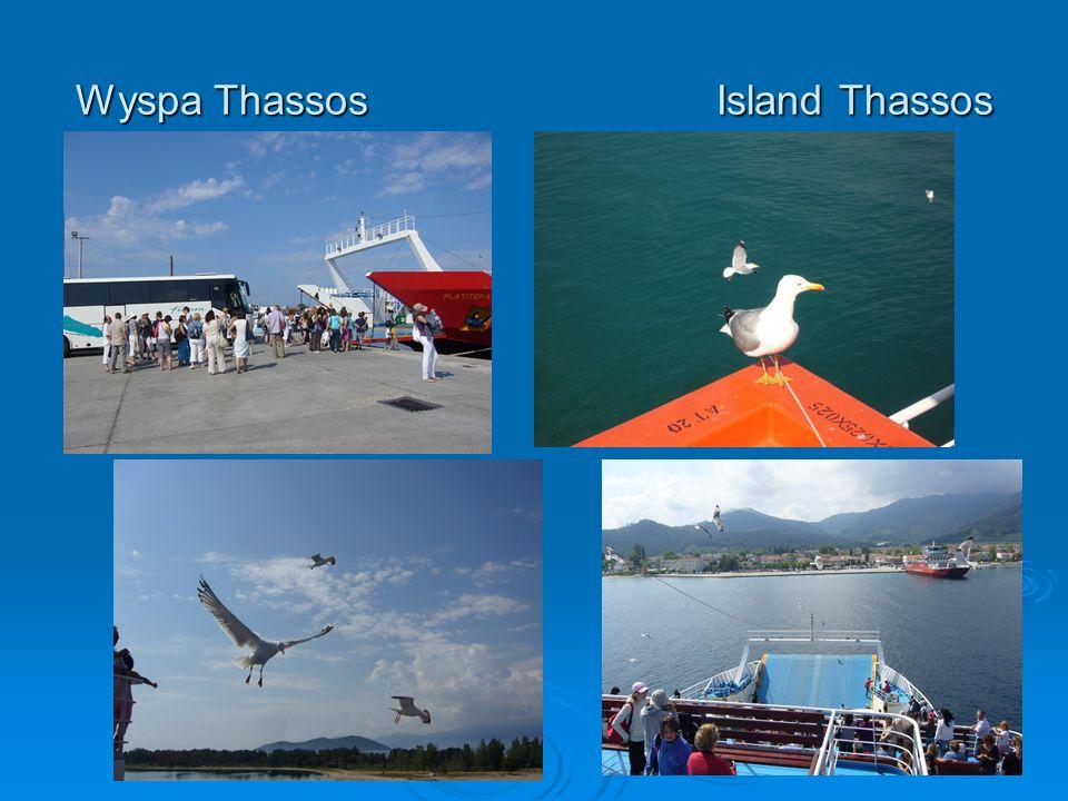 Wyspa Thassos Island Thassos