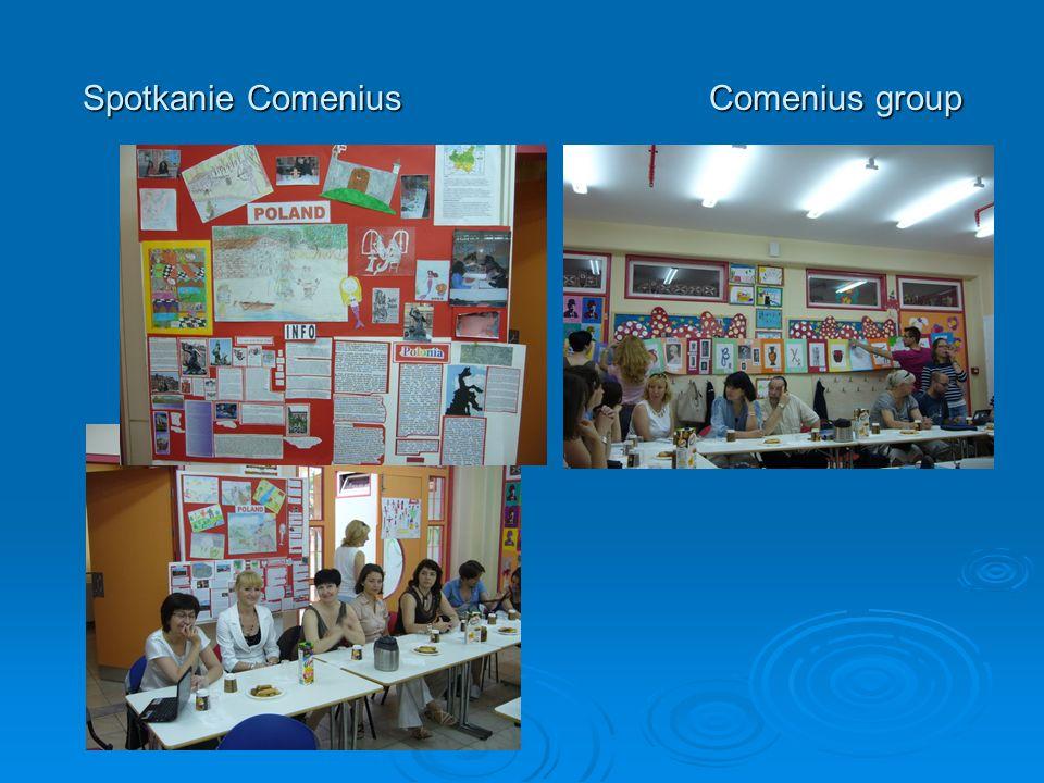 Spotkanie ComeniusComenius group