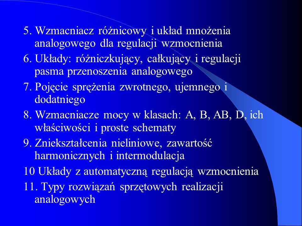 12.Ogólny schemat sprzętu cyfrowego, podstawowe pojęcia przetwarzania a/c i c/a 13.