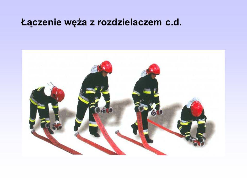 Łączenie węża z rozdzielaczem c.d.