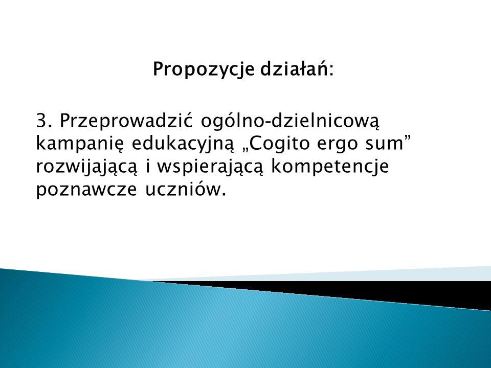 Propozycje działań: 3.
