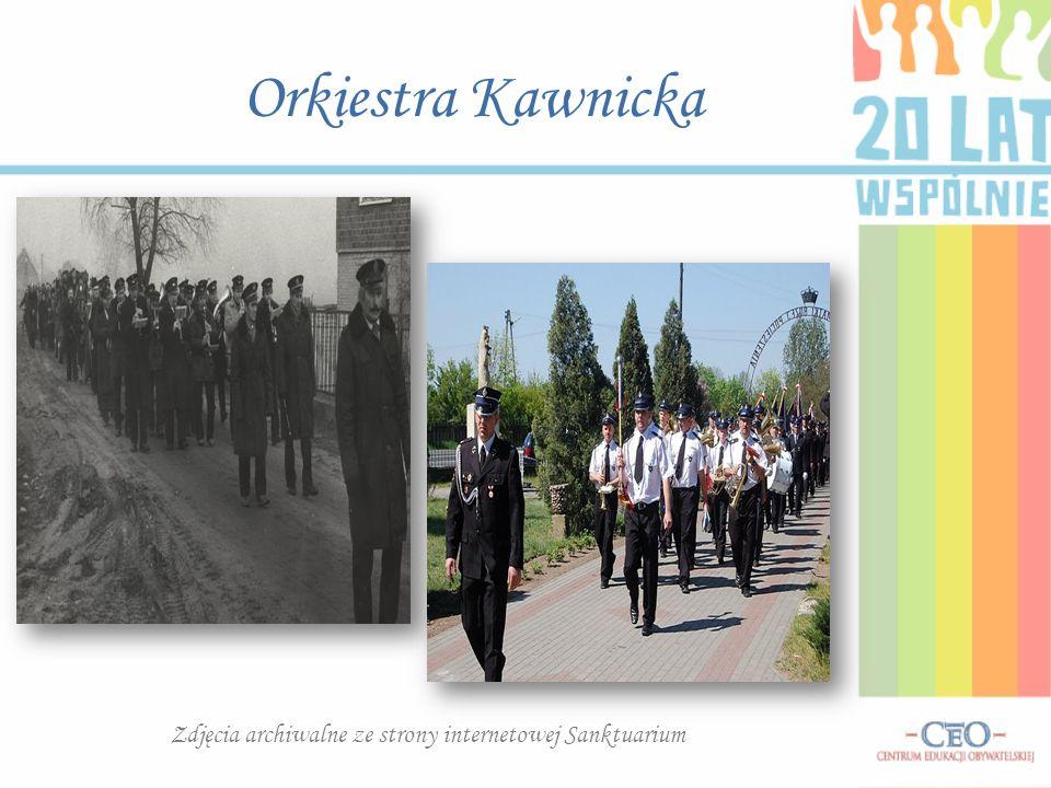 Orkiestra Kawnicka Zdjęcia archiwalne ze strony internetowej Sanktuarium