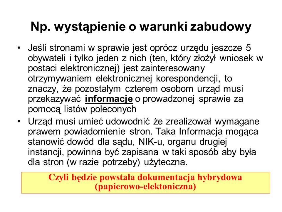 EZD a metryka sprawy Zgodnie z rozporządzeniem MAiC z dnia 6 marca 2012 r.
