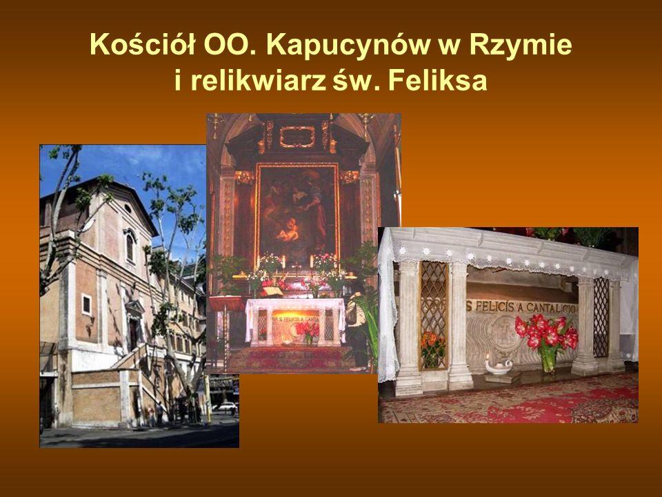 Kościół OO. Kapucynów w Rzymie i relikwiarz św. Feliksa