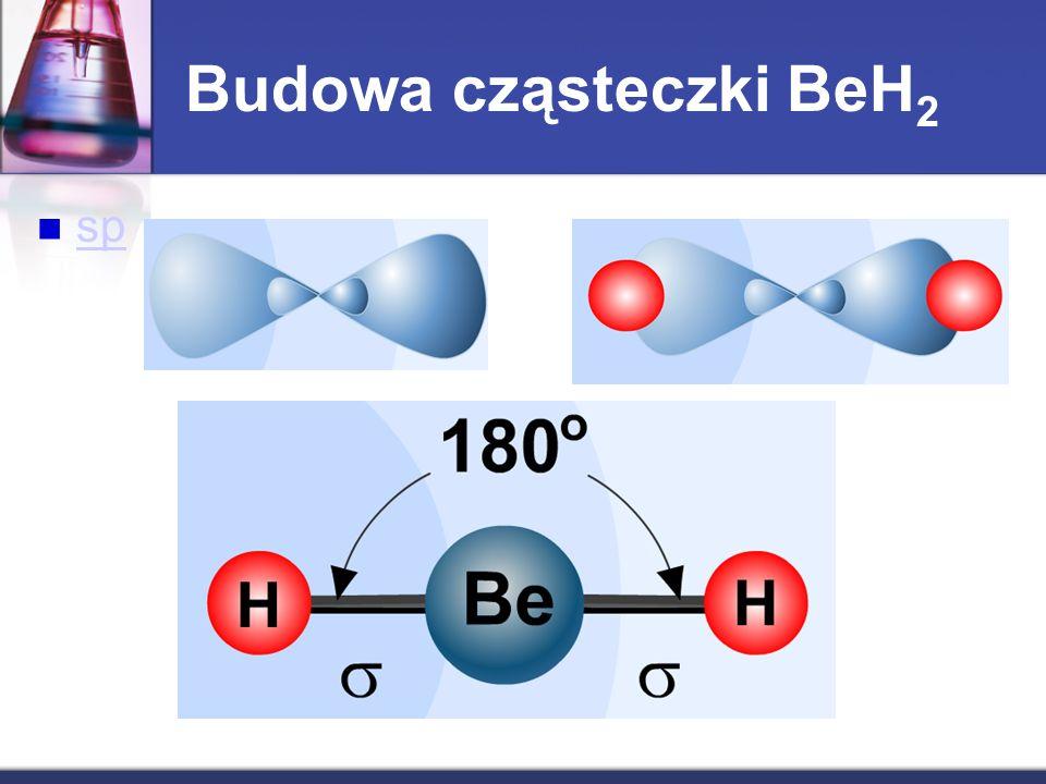 sp Budowa cząsteczki BeH 2