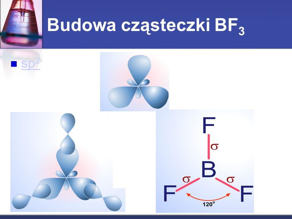 sp 2 sp 2 Budowa cząsteczki BF 3