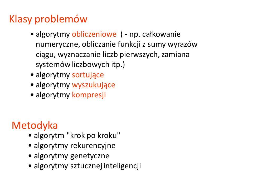 Deklaracja podprogramu - opis podprogramu Instrukcja wywołania podprogramu – wykonanie, zastosowanie podprogramu wewnątrz programu głównego lub innego podprogramu Kod źródłowy - tekst programu w języku programowania (plik tekstowy pas) Kompilacja - tłumaczenie (w całości) kodu źródłowego na wykonywaną postać binarną, ładowalną (plik exe) – odrębny proces Interpretacja – tłumaczenie kolejnych instrukcji w trakcie procesu wykonywania