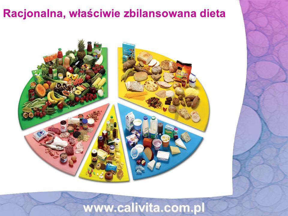 www.calivita.com.pl Racjonalna, właściwie zbilansowana dieta