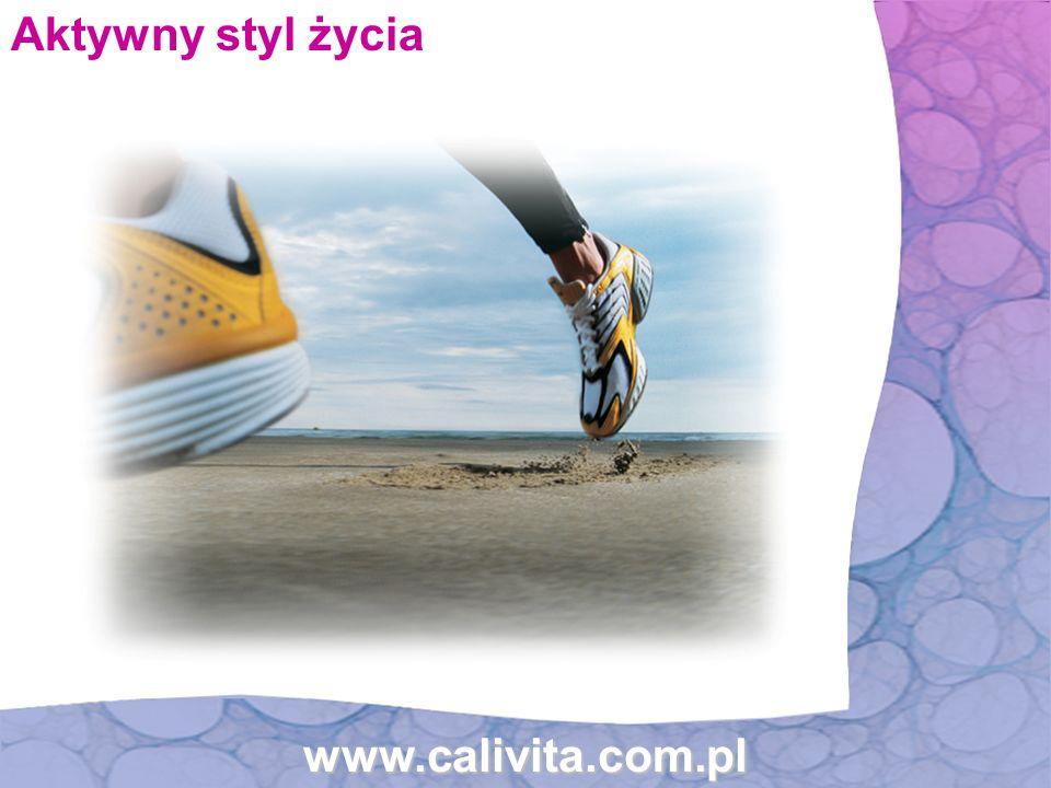 www.calivita.com.pl Aktywny styl życia