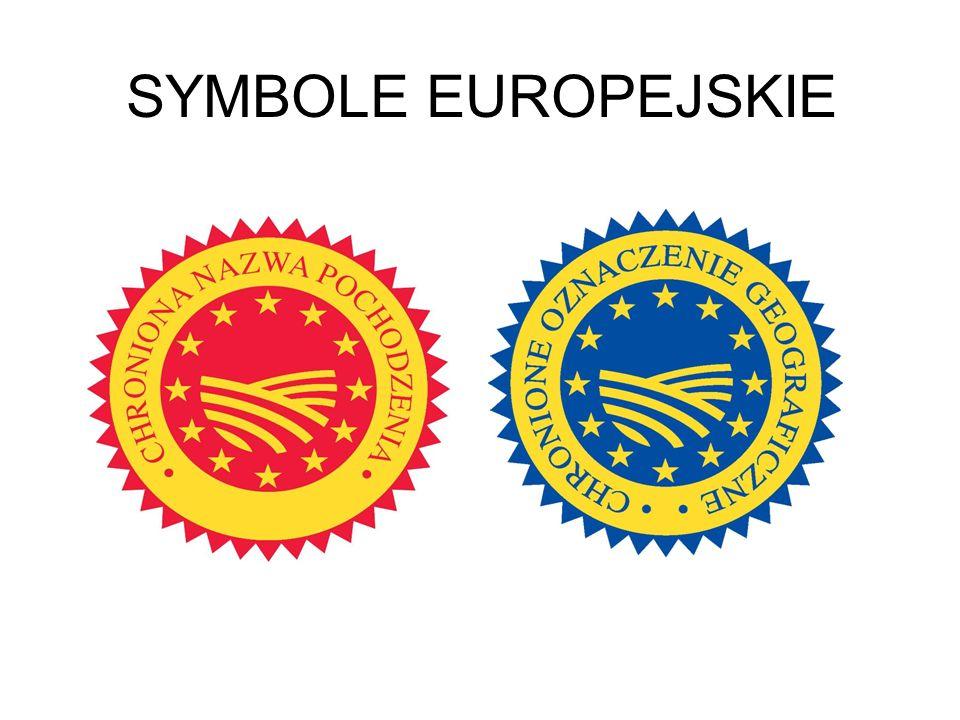 SYMBOLE EUROPEJSKIE